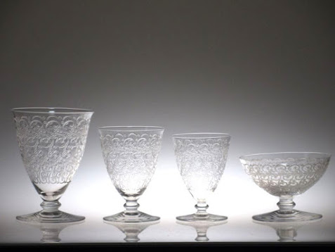 バカラのシャトーブリアンのグラス4種類