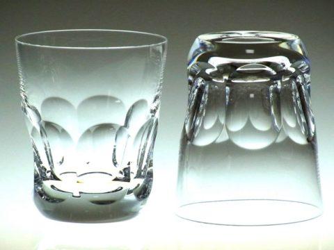 バカラのアルクールイブのロックグラスのペアグラス
