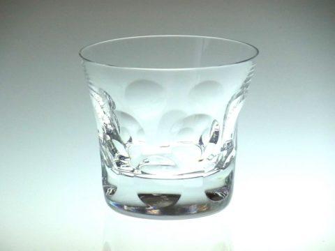 バカラのベルーガのロックグラス