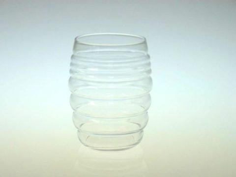 バカラのタンブラー 個性的なもこもこグラス