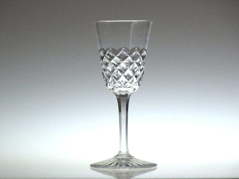 バカラの赤ワイングラス、ブルゴス
