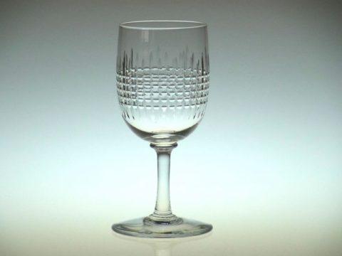 バカラの白ワイングラス ナンシー