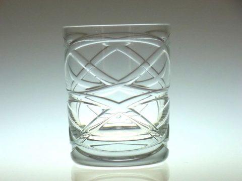 バカラのスモークのロックグラス