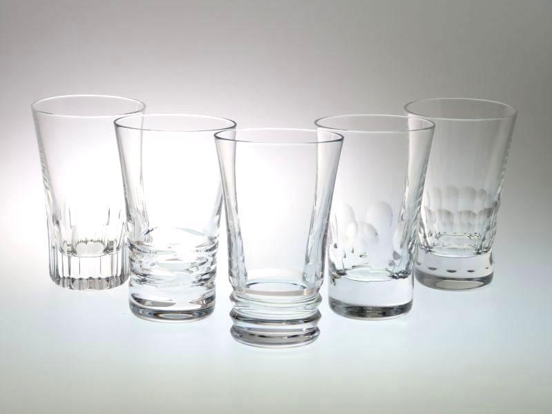 バカラのグラスジャパン、5客アソートセット