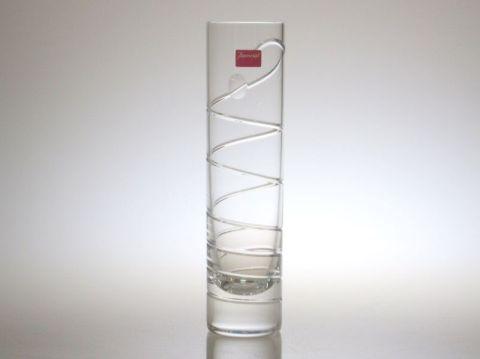 バカラの花瓶、一輪挿しのオルグスパイラル