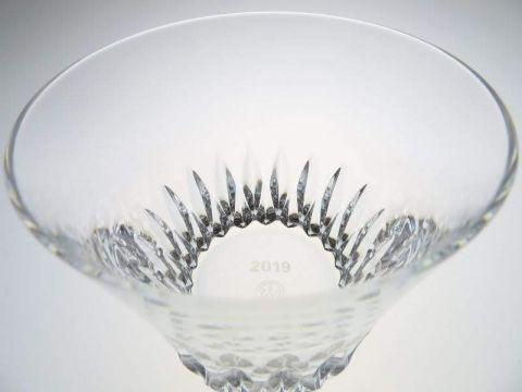 引出物に人気のバカラのグラス、イヤータンブラーのヴィータ