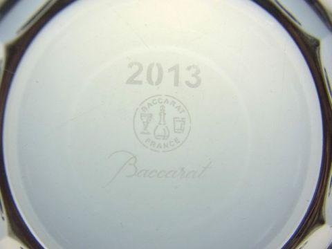 バカラのビバ、2013年のイヤータンブラー刻印