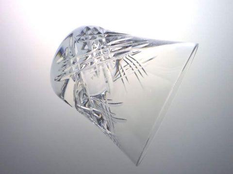 バカラのステラのロックグラス側面