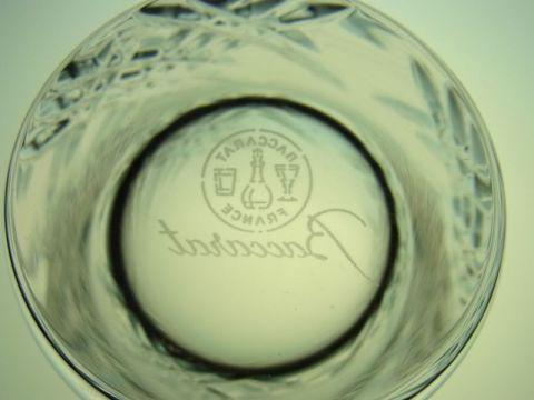 バカラのステラのグラスジャパン底部の刻印