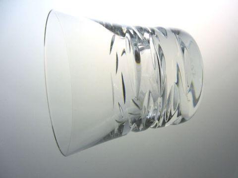 バカラのローラ、ロックグラス側面