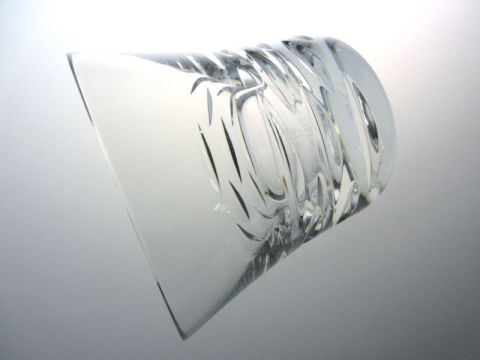 バカラのローラ、ロックグラス横向き