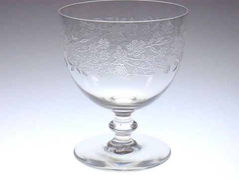 バカラのブルータワー、ワイングラス