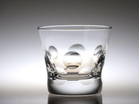 バカラのベルーガのロックグラス正面