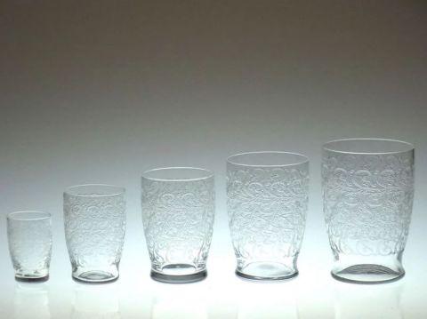 バカラのクヴィユのハイボール(タンブラー)グラス、サイズ違い一覧