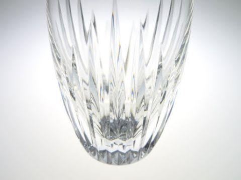 バカラのマッセナのハイボール(タンブラー)グラス、カット部分