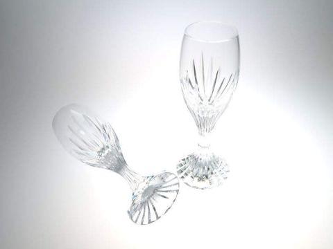 バカラのマッセナのリキュールグラス、ペア