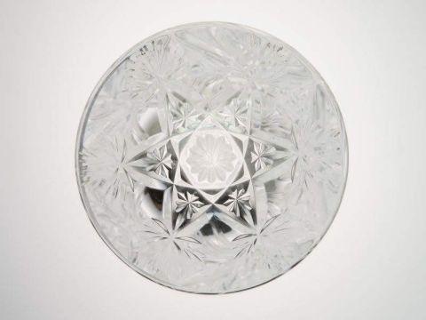 バカラのエルブフのハイボール(タンブラー)グラス、底部のカットデザイン