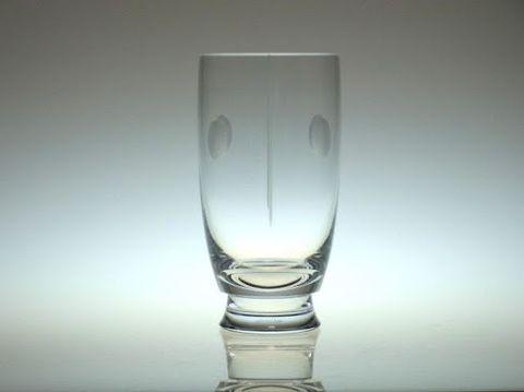 バカラのトランキュリティのハイボール(タンブラー)グラス
