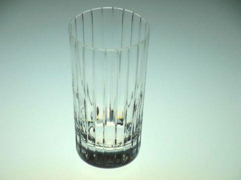 バカラのハーモニーのハイボール(タンブラー)グラス斜め上から