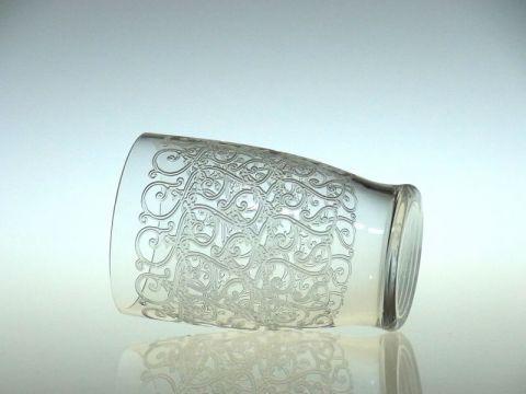 バカラのクヴィユのハイボール(タンブラー)グラス横向き