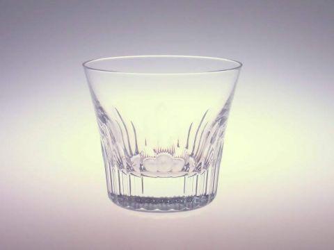 バカラのロックグラス、年号グラスのフィオラ