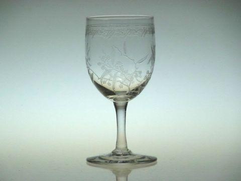 バカラのワイングラス、ミモザ