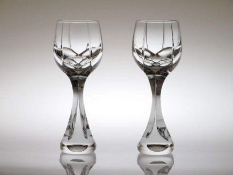 バカラのワイングラス、ネプチューン2客ペア