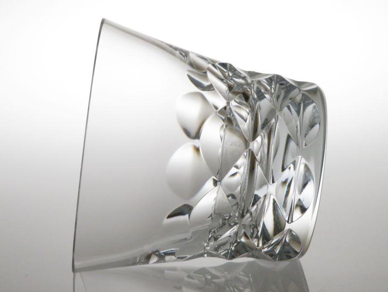 バカラのブルゴス、ロックグラス横向き