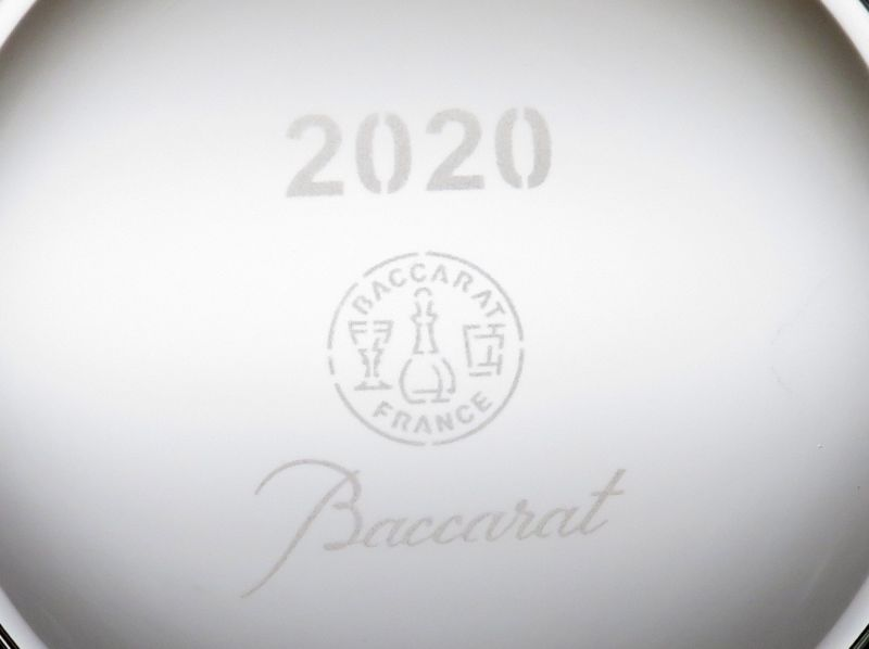 バカラの年号ロックグラス、ブラーヴァのイヤータンブラー