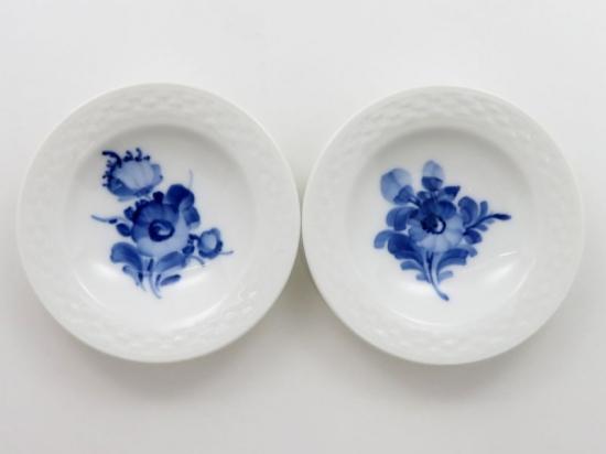 ロイヤルコペンハーゲン ブルーフラワープレイン ミニバター皿