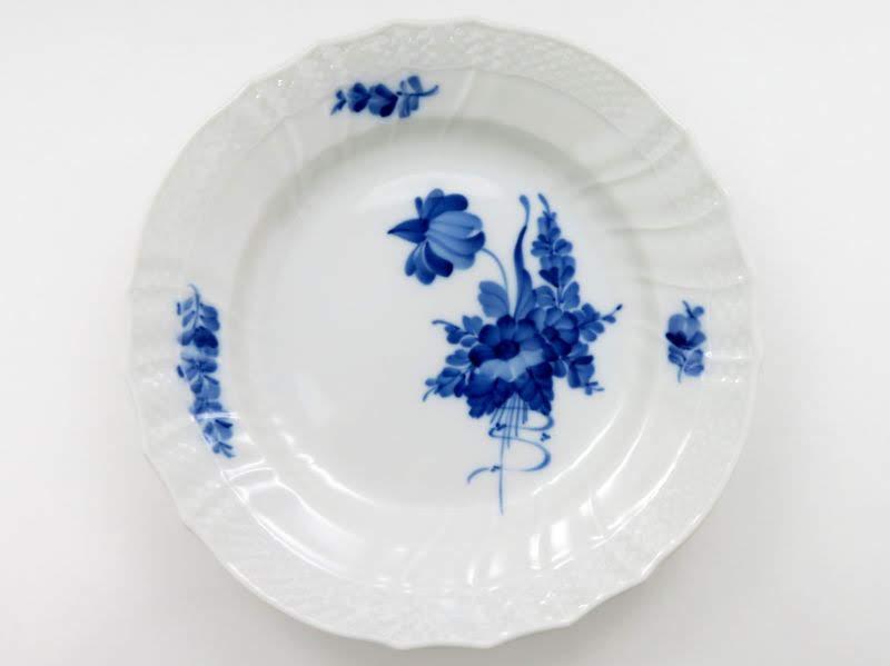 ロイヤルコペンハーゲンのブルーフラワーカーブのプレート別皿1