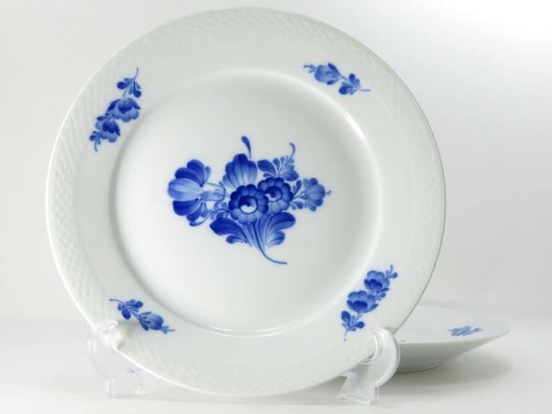 ロイヤルコペンハーゲンのブルーフラワー、プレインのプレート別皿